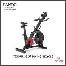 จักรยานออกกำลังกาย YESOUL S3 SPINNING BICYCLE (BLACK)