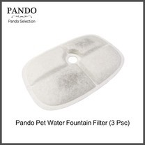 Pando Pet Water Fountain Filter (Accessory) 3 pack ไส้กรองน้ำพุแมว