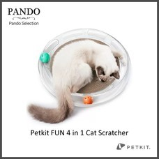 Petkit FUN 4 in 1 Cat Scratcher แผ่นเสื่อมัลติฟังก์ชั่นสําหรับใช้ในการขัดเล็บแมว