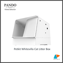 Petkit Whitevilla Cat Litter Box ห้องน้ำแมว
