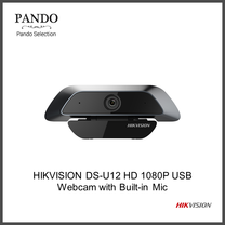 HIKVISION DS-U12 HD 1080P USB Webcam with Built-in Mic