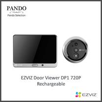 กล้องวงจรปิด EZVIZ - Door Viewer DP1 720P Rechargeable
