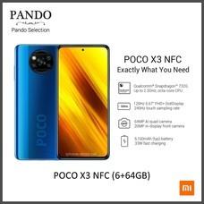 Xiaomi POCO X3 NFC (6+64GB) จอ 6.67