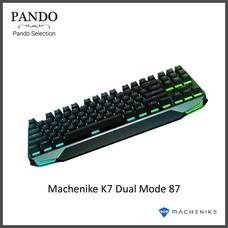 Machenike K7 Dual Mode 87 Keys Anti-Ghosting Mechanical Gaming Keyboard - Black Switch