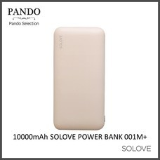 10000mAh SOLOVE POWER BANK 001M+