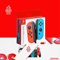 จอย Controller Nintendo Switch สี นีออน (แดงฟ้า)