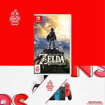 The Legend of Zelda Breath of the Wild (แผ่นเกมส์)(Nintendo Switch)