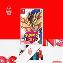 Pokemon Shield (แผ่นเกมส์)(Nintendo Switch)