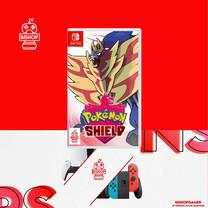 Pokemon Shield (แผ่นเกมส์)(Nintendo Switch)