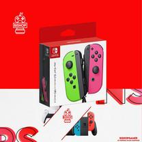 จอย Controller Nintendo Switch สีชมพูเขียว