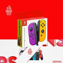 จอย Controller Nintendo Switch สีม่วงส้ม