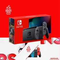 เครื่องเกมส์ Nintendo Switch สีเทา กล่องแดง รุ่นใหม่ แบตอึด V.2