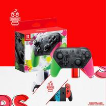 จอย Pro Controller Nintendo Switch สีชมพูเขียว