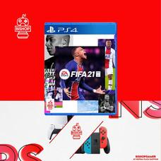 Fifa21 (แผ่นเกมส์)(PS4)