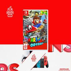 Mario Odyssey (แผ่นเกมส์)(Nintendo Switch)