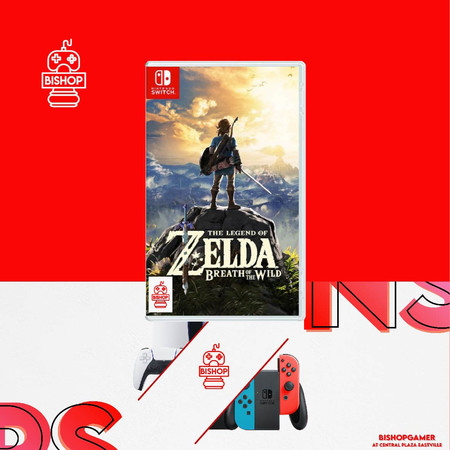 The Legend of Zelda Breath of the Wild (แผ่นเกมส์)(Nintendo Switch)​