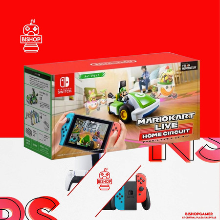 Mario Kart Live (Luigi)(แผ่นเกมส์)(Nintendo Switch)
