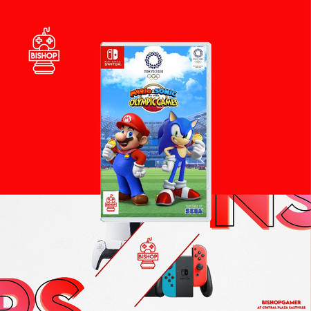Mario&Sonic At The Olympic Games Tokyo 2020 (แผ่นเกมส์)(Nintendo Switch)