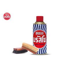 Brasso บรัสโซ น้ำยาขัดโลหะ 400มล.