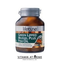 Lifetune Green Lipped Mussel Plus Fish Oil ไลฟทูน กรีนลิฟท์ มัสเซิล พลัส ฟิชออยล์ 45 แคปซูล