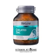 Lifetune Chelated Zinc 75 mg คีเลต ซิงค์ 90 เม็ด