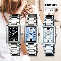 Velashop นาฬิกาผู้หญิง Casio สายสแตนเลส รุ่น LTP-1238D, LTP-1238D-1ADF, LTP-1238D-2ADF, LTP-1238D-7ADF, LTP-1238D-1A, LTP-1238D-2A, LTP-1238D-7A - สีเงิน