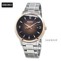 Velashop นาฬิกาข้อมือผู้ชาย SEIKO QUARTZ MEN WATCH MODEL รุ่น SGEH90P, SGEH90