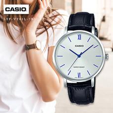 Velashop นาฬิกาข้อมือผู้หญิง Casio Standard สายหนัง รุ่น LTP-VT01L, LTP-VT01L-7B1UDF, LTP-VT01L-7B1