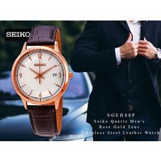 Velashop นาฬิกาข้อมือผู้ชาย SEIKO QUARTZ MEN WATCH MODEL: SGEH88P, SGEH88