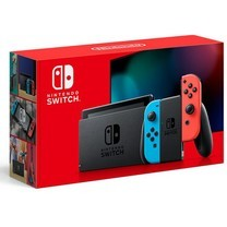 NINTENDO SWITCH (GENERATION 2) (NEON BLUE / NEON RED)
