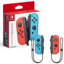 Nintendo Switch Joy-Con Controllers (Neon Red/Neon Blue )
