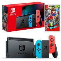 Nintendo Switch New Console (2019) ฟรีเกม Super Mario Odyssey (US)