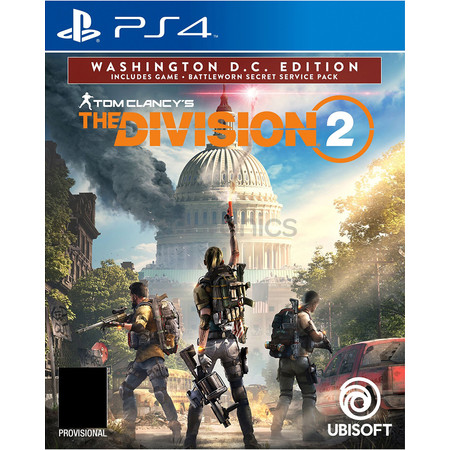 PS4 : Tom clancy's the division 2