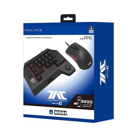 เม้าส์+คีบอร์ด for PS4 PS3 PC Gaming Controller HORI