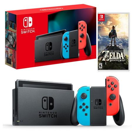 Nintendo Switch New Console (2019) ฟรีเกม Zelda Breath of the Wild