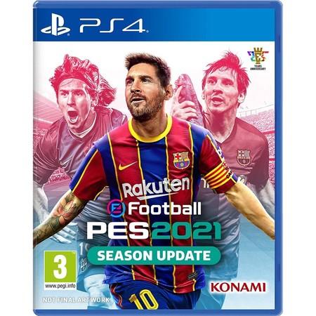 PS4 football pes 2021 ( english zone 3 )