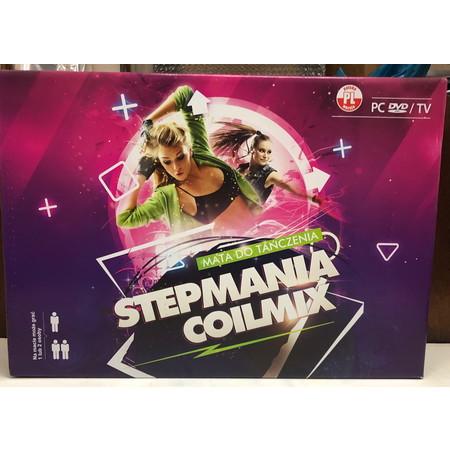 ( แผ่นเต้นคู่ต่อ TV ไร้สาย ) StepMania CoilMix