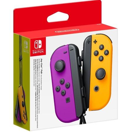 ์Nintendo switch Joy-Con Controllers [Neon Purple and Neon Orange]