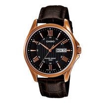 Casio MTP-1384L-1 นาฬิกาข้อมือสำหรับผู้ชายสายหนัง ของแท้ ประกันศูนย์ฯ 1 ปี