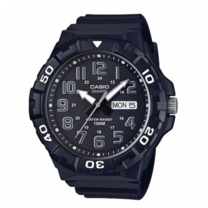 Casio MRW-210H-1AV นาฬิกา Casio ผู้ชาย ของแท้ สายเรซิ่น รับประกันศูนย์ 1 ปี MRW-210H-1, MRW-210H, MRW210H