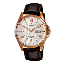 Casio MTP-1384L-7 นาฬิกาข้อมือสำหรับผู้ชายสายหนัง ของแท้ ประกันศูนย์ฯ 1 ปี
