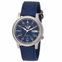 Seiko SNK807 นาฬิกาข้อมือ Seiko ผู้ชาย สายผ้า ของแท้ รับประกันศูนย์ Seiko ประเทศไทย 1 ปี