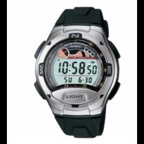 Casio W-753-1A นาฬิกา Casio ผู้ชาย ของแท้ รับประกันศูนย์ 1 ปี ระบบ ดิจิตอล สายยาง W-753-1, W-753, W753, Casio 753, 12/24HR