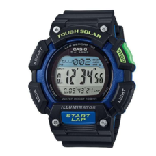 Casio STL-S110H-1A นาฬิกาผู้ชายสายยาง ของแท้ ประกันศูนย์ 1 ปี