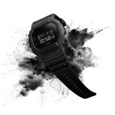 Casio G-Shock DW-5600BB-1A นาฬิกาผู้ชายสายเรซิ่น ของแท้ ประกัน CMG