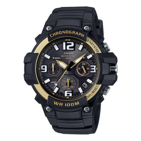 Casio MCW-100H-9A2V นาฬิกา Casio ผู้ชาย ของแท้ สายเรซิ่น รับประกันศูนย์ไทย 1 ปี