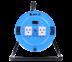 Toshino ล้อเก็บสายไฟสาย VCT 3x1.0 ยาว 10 ม. สีฟ้า รุ่น MN310T-10M