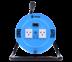 Toshino ล้อเก็บสายไฟสาย VCT 3x1.0 ยาว 20 ม. สีฟ้า รุ่น MN310T-20M