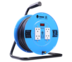 Toshino ล้อเก็บสายไฟสาย VCT 3x1.5 ยาว 30 ม. สีฟ้า รุ่น FM315T-30M