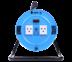 Toshino ล้อเก็บสายไฟสาย VCT 3x1.5 ยาว 10 ม. สีฟ้า รุ่น MN315T-10M